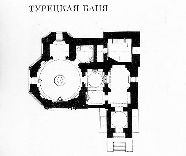 1850-е годы. Турецкая баня - Category:Turkish Bath (Saint Petersburg) - Wikimedia Commons