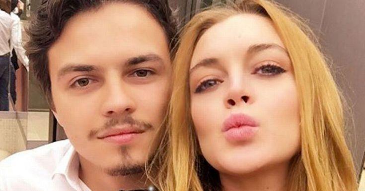 Lindsay Lohan's front door damaged after she publicly slams fiancé Egor Tarabasov on Twitter