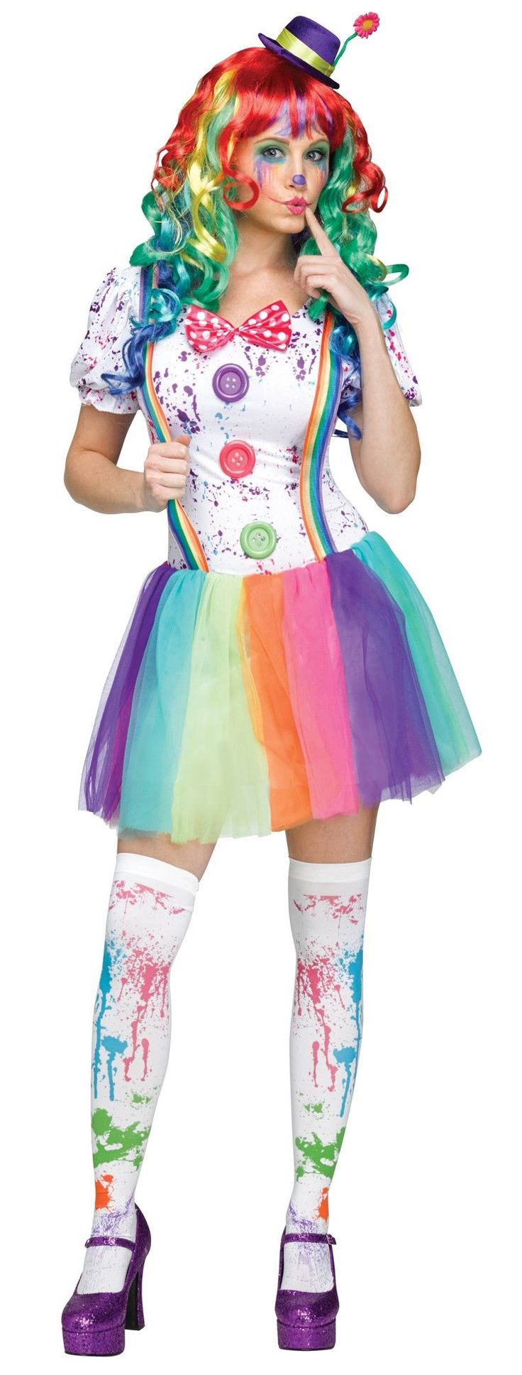 #Clown #Women #Costume for any occasion