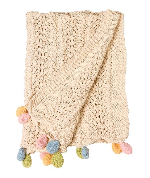 Gorgeous baby blanket via Jordan Ferney on Babble, $55