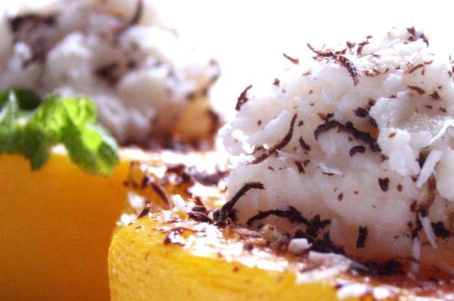 relaxotour: Grillezett  őszibarack kókuszkrémmel