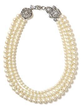 I'm really into pearls lately.