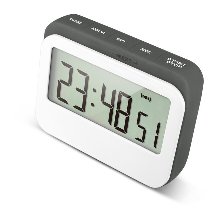 Magnetic Digital Timer C/W Back Stand With 12/24 Hours Interchangeable Countdown Timer Alarm Clock