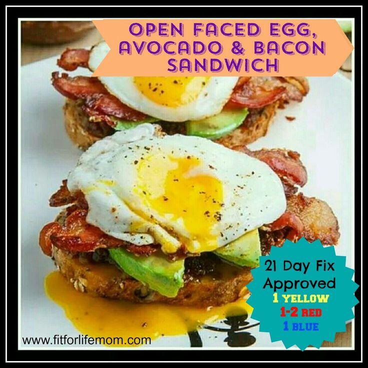 ... open faced egg bacon watercress sandwich sauce open faced egg bacon