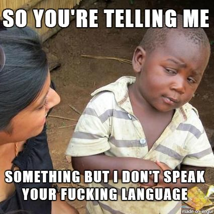 So you're telling me…