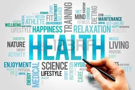 salute: SALUTE parola nuvola concetto
