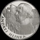 """Medaila Ag """"Andrej Hlinka - 150. výročie narodenia"""""""