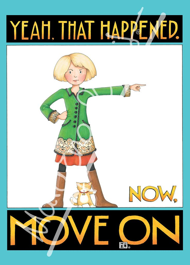 Move On Greeting Card – Mary Engelbreit Studios