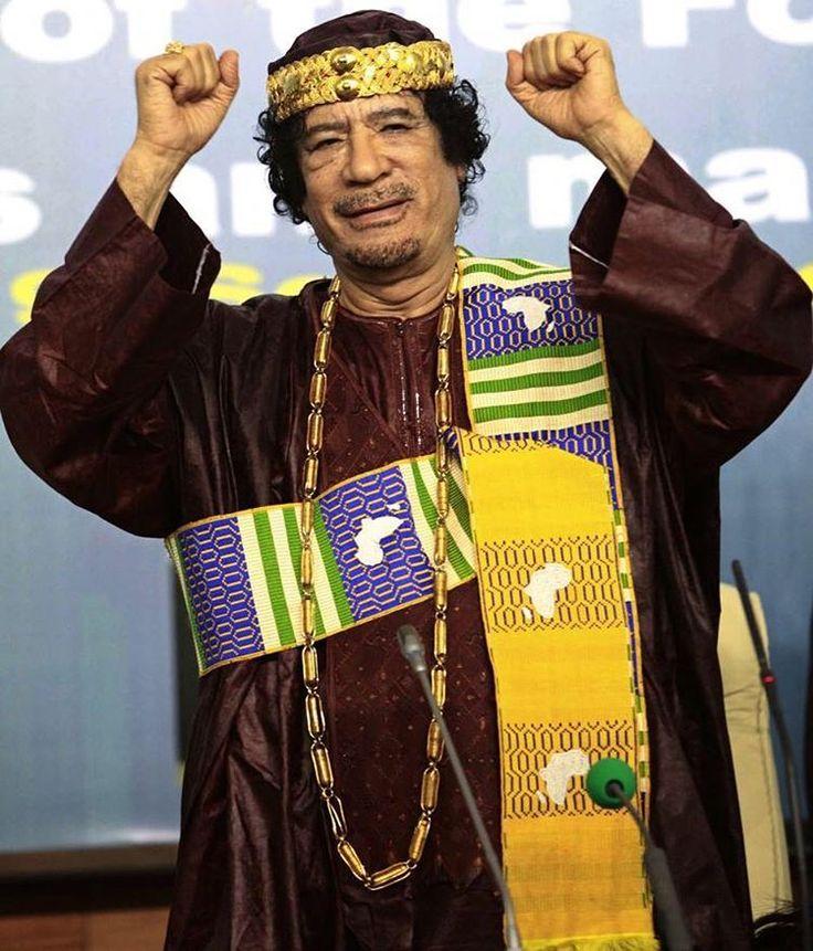 """""""What did I do to you?"""" - Muammar Gaddafi last words"""