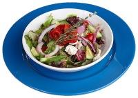 Salat mit Mohnöl