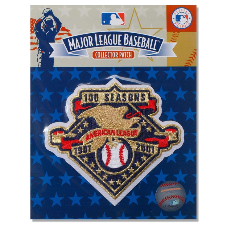 MLB American League 100th Anniversary Patch