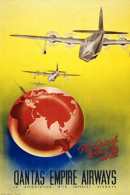 Qantas Empire Airways - Poster | Flickr - Photo Sharing!