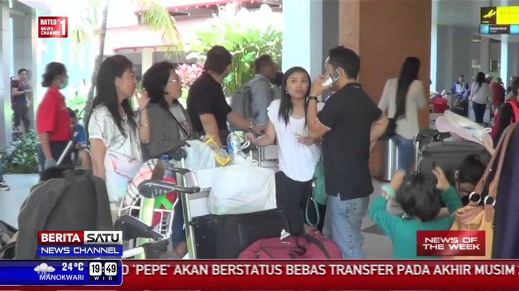 Asli Berita 26 Juli 2015 - VIDEO Gunung Raung Kembali Meraung, Bandara S...
