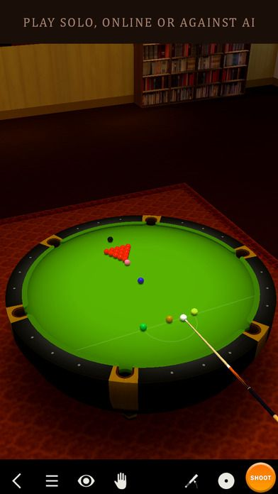 Pool Break 3D Billiards 8 Ball 9 Ball Snooker by Kinetic Bytes is FREE for a limited time! Check it out!
