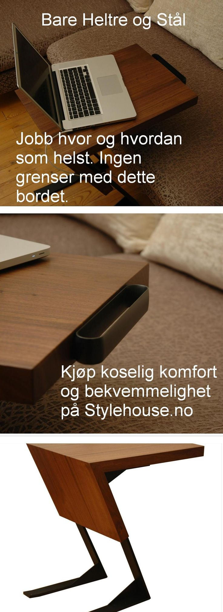#trestålbord #pult #pulten #x-britt #x-brittbord #bord #bekvemmeligbord #minimalistisk