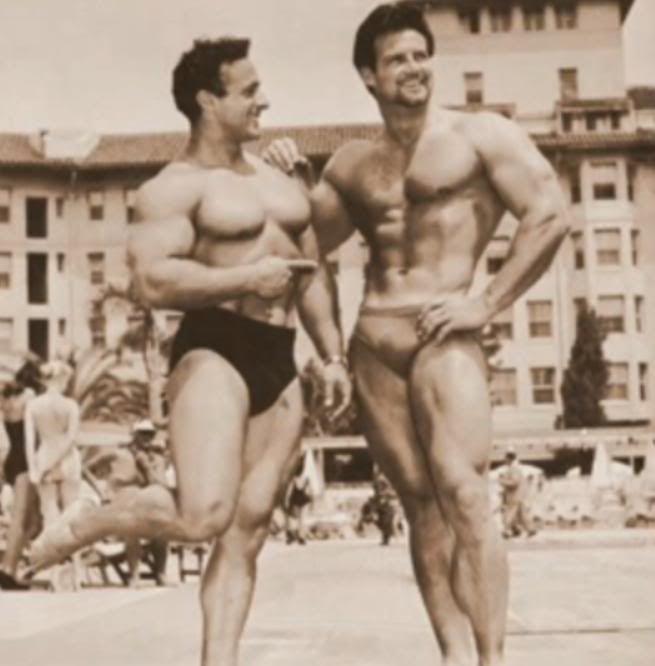 George Eiferman and Steve Reeves