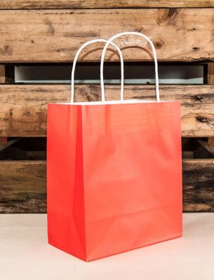Radiant Red Bags