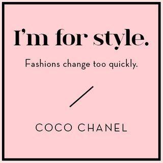 Wise Words from Coco Chanel   Design*Sponge   Bloglovin'