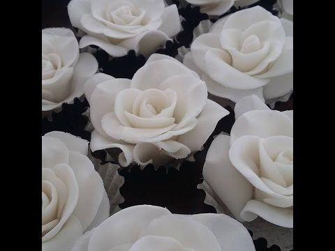 Como fazer Rosas de Açúcar Sugar Roses Rosas de Azúcar - YouTube