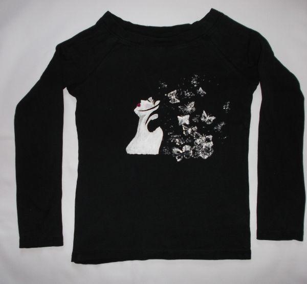Koszulka lub bluzka ręcznie malowana - Marzenia