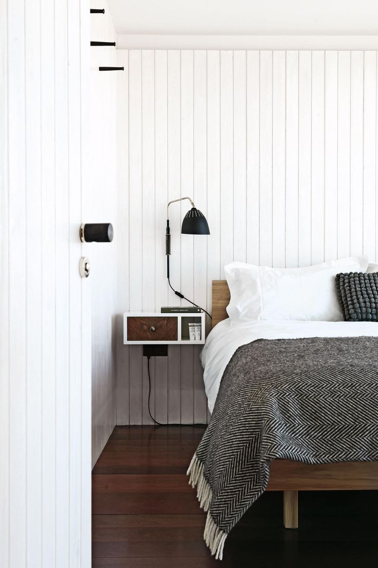 A bedroom in the Jarman House. Photography by Damian Russell.