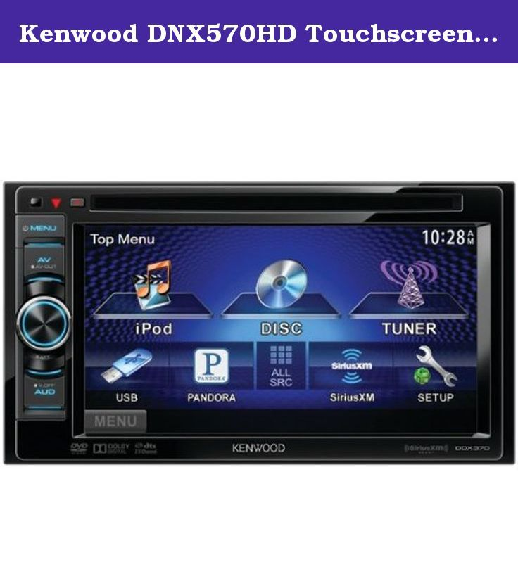 17 best images about in dash dvd video receivers car video car kenwood dnx570hd touchscreen in dash 2 din multimedia dvd receiver navigation bluetooth
