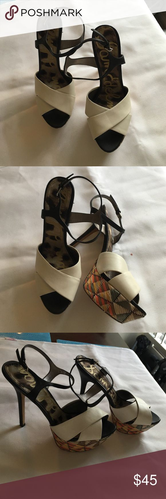 SAM EDELMAN HEELS Beautiful platform heels new with out box Sam Edelman Shoes Heels