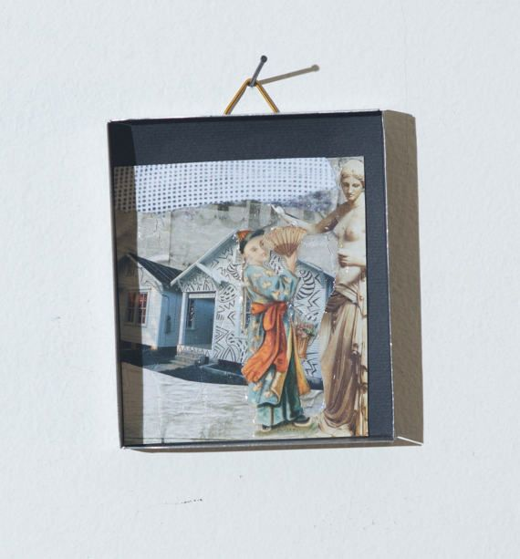 collage in a box 19 di SMALLUNIVERSES su Etsy