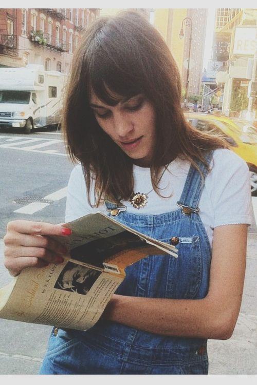 Alexa Chung - Dungarees / Overalls