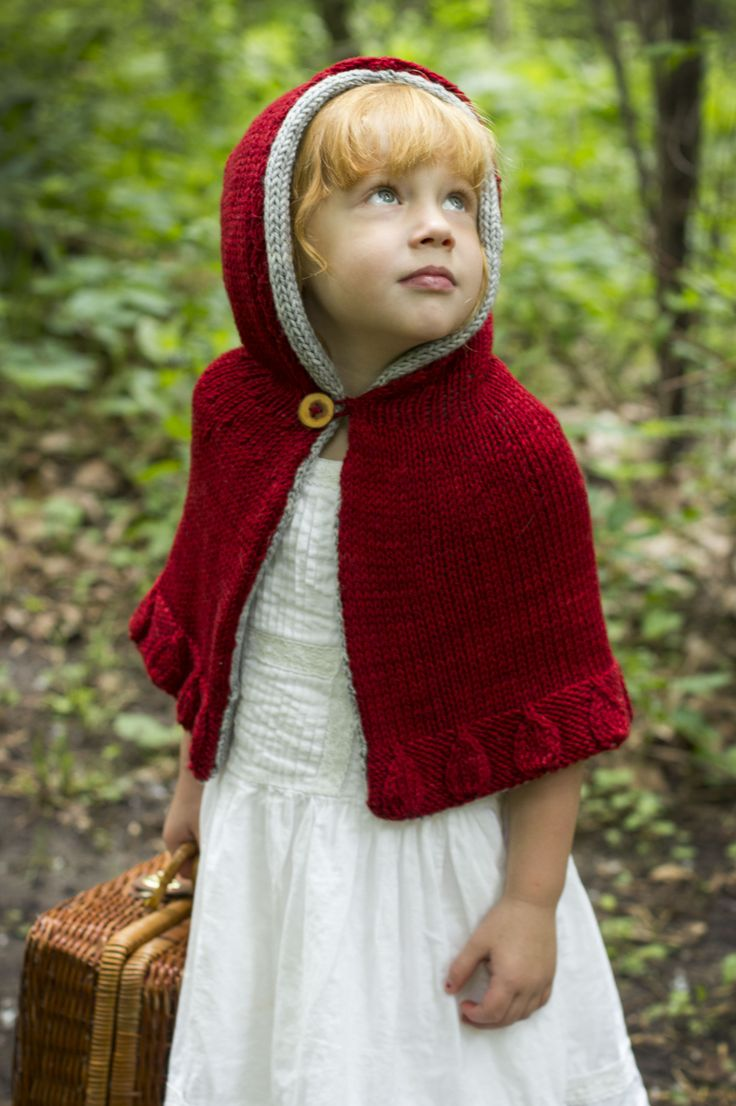 Red Cape Knitting Pattern : The 59 best images about Fairy Tale Crochet on Pinterest Amigurumi doll, Me...