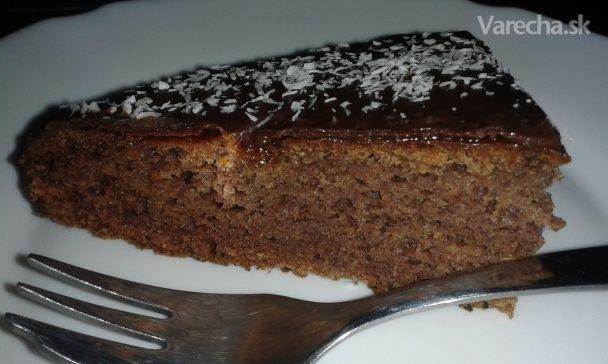 Datlový koláč bez cukru (fotorecept) - Recept