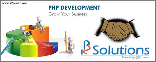 PHP (PHP: Hypertext Preprocessor) is a well-recognized and broadly used open source scripting language predominantly used for developing websites. As per the statistics, PHP has been installed on more than two million web servers and 244 million websites. - See more at: http://www.k2bindia.com/a-reputed-php-development-company-goes-a-long-way-in-your-online-success