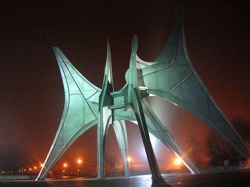 Expo 67 - Montréal, Québec , Calder - L'homme