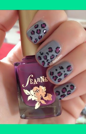 Leopard Print Purple | Danielle R.'s (naillovin) Photo | Beautylish ( VIP Fashion Australia www.vipfashionaustralia.com - cute dresses for cheap )