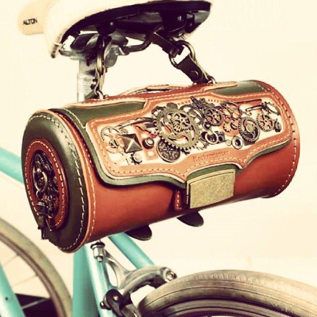 Steampunk Bike bag