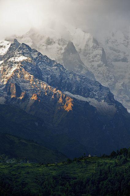 Annapurna Sunset, Ghandruk, Nepal