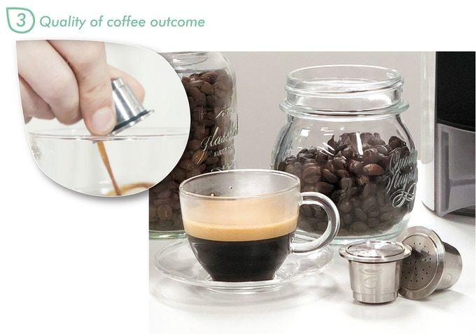 Capsulier lets coffee lovers create custom blends in a capsule making machine easily.