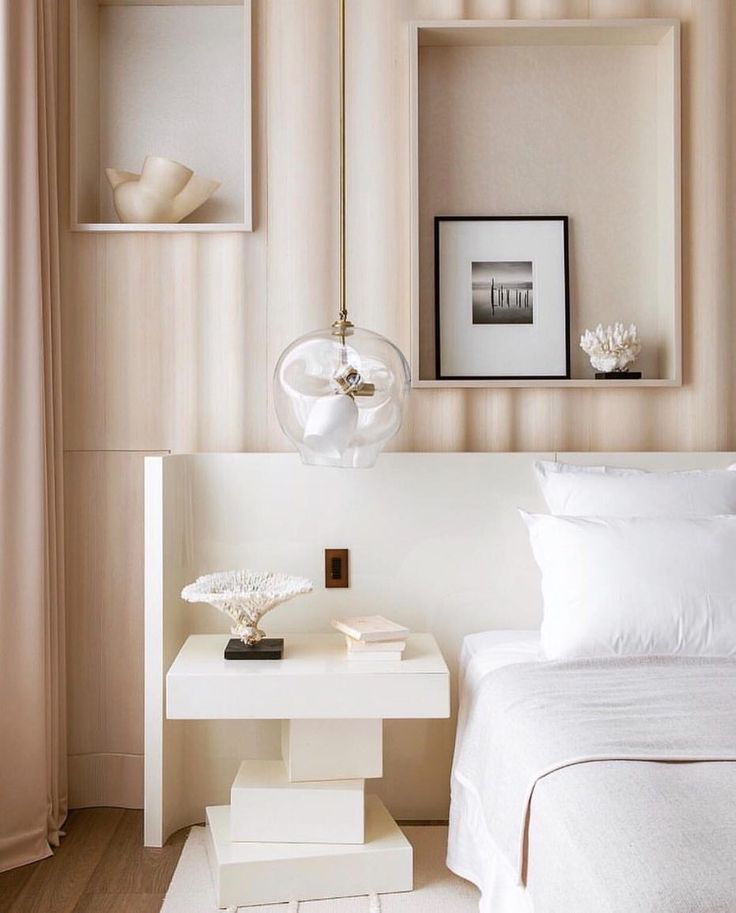 "1,118 Likes, 23 Comments - Kelly Behun (@kellybehunstudio) on Instagram: ""Très chic bed niche bedroom detail by Damien Langlois-Meurinne . . . . . #frenchdesign…"""