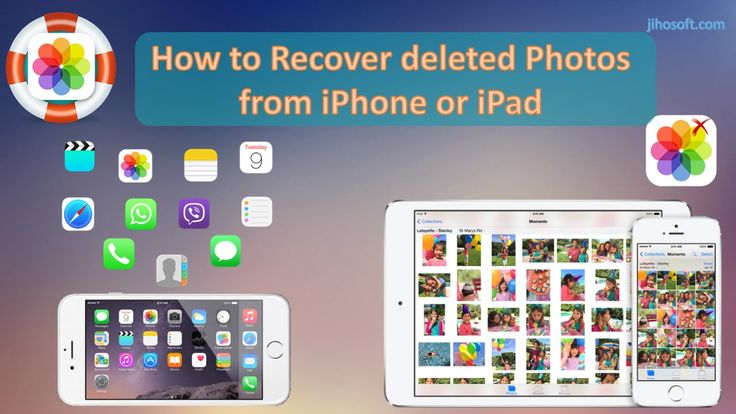 Wanna retrieve deleted photos on iPhone and iPad? Follow this guide to restore deleted photos on your device.