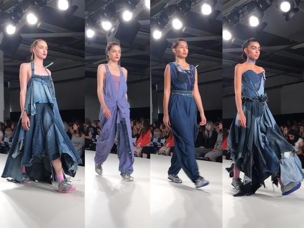 Arts University Bournemouth AUB Graduate Fashion Week Caitlin Martin - Erebus