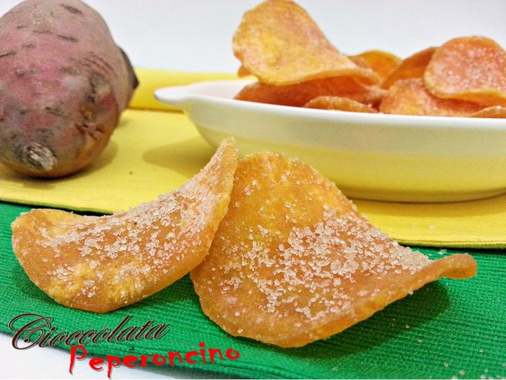 Patate dolci fritte