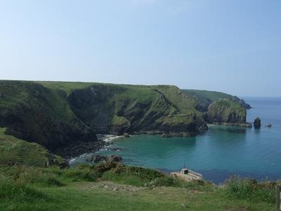 Gorgeous views over Kennack Sands from this Camping & Touring Park in beautiful Cornwall