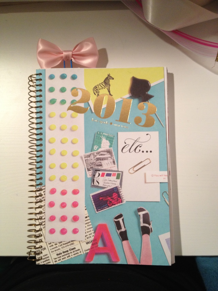 Bow bookmark for my new Kate Spade planner :)