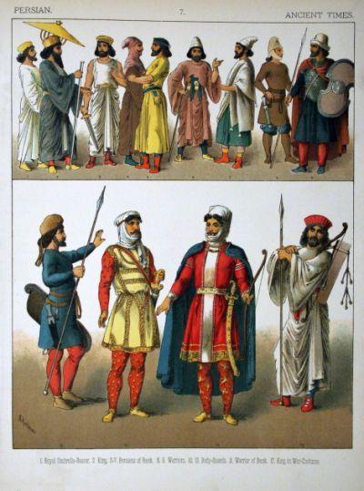 Description Ancient Times, Persian.