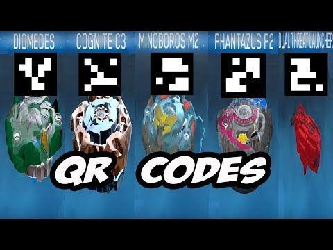beyblade burst qr codes pictures