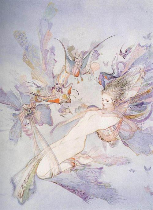 Tarot, Potions, and Psychedelic Magick Spells: Yoshitaka Amano