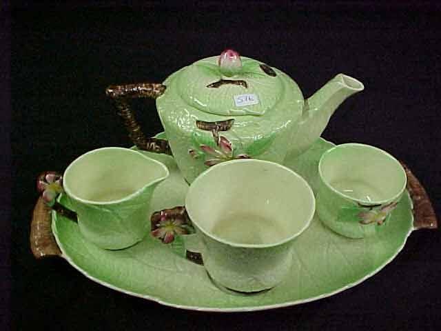 Carlton Ware Pottery Tea For 1 Set