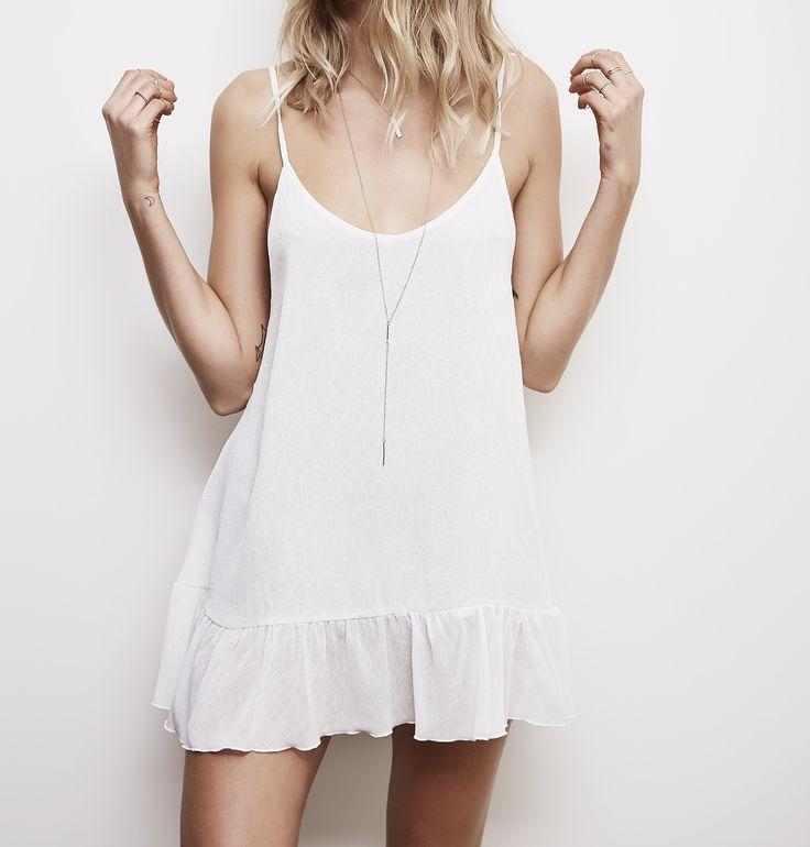 Hunter Rose - Flynn Backless White Dress