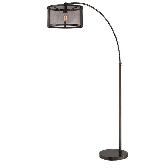 The Union Station arc floor lamp is a great statement piece to add you your home. With its transitional looks, antiqued bronze-finished base and mesh metal lamp shade, this casual piece is stunning.