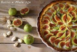 Verse vijgen en mascarpone taart